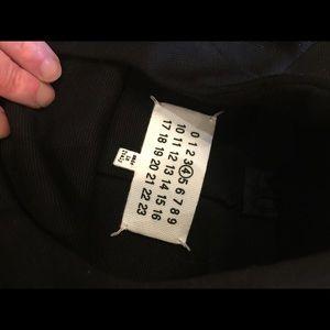 Maison Martin Margiela Sweaters - Maison Margiela line 4 Black viscous back zip 42 6